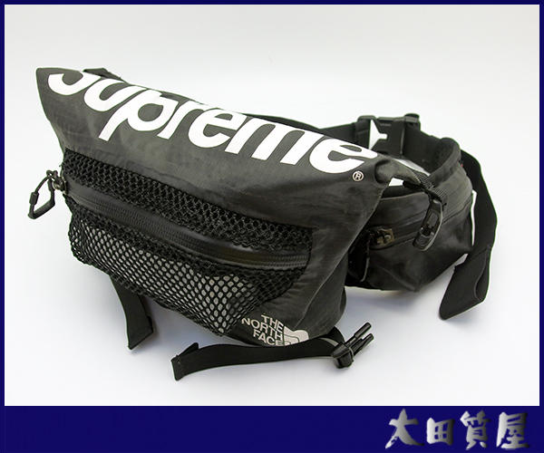 c14e4dda9e1 中古】【美品】17SS Supreme x THE NORTH FACE Water Proof Waist Bag ...