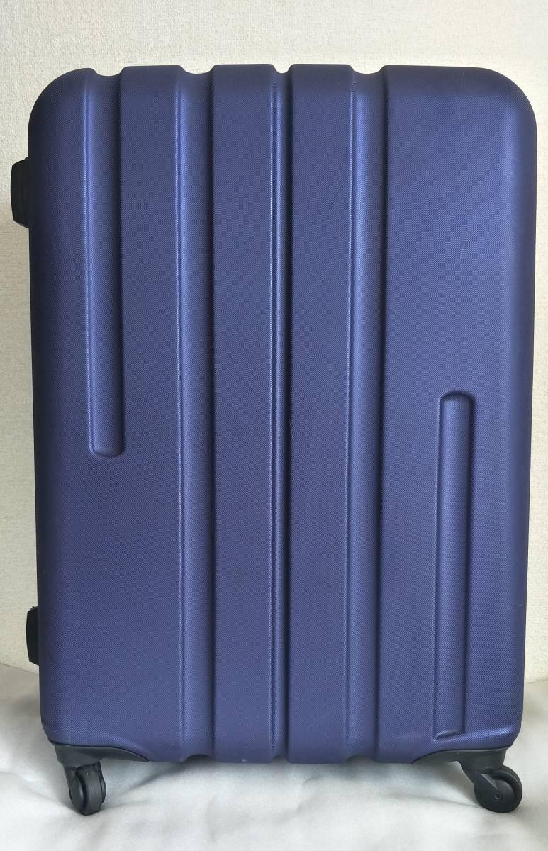 3a7044e88d スポールディング SPALDING のスーツケース キャリーケース キャリーバッグ Lサイズ NAVY BLUE #006