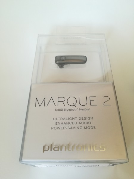 34a9940e20d Plantronics M180 プラントロニクス Wireless Bluetooth Headset for All Smartphones -  グレーの1番目の画像