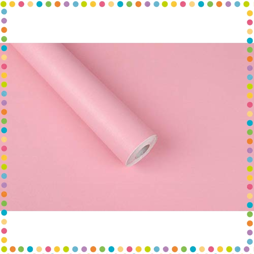 未使用新品 34 色8 ピンク Benque 壁紙シール 無地 3d Diy ウォール