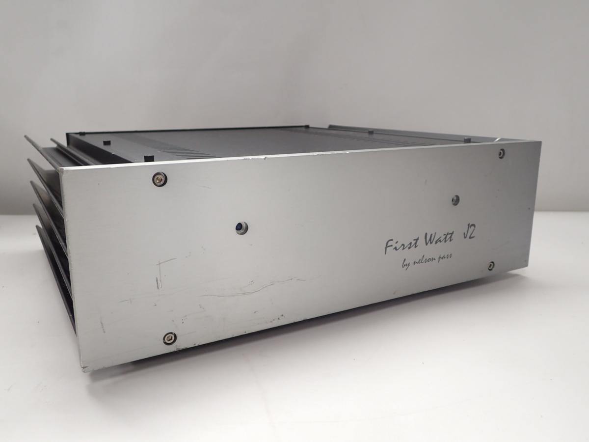 中古】First Watt パワーアンプ J2 by nelson pass ▽ 4FB87-11