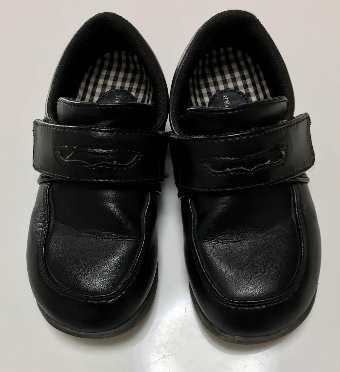 58d270aa6bcd5 ムーンスター*キャロット フォーマルシューズ C2092 ブラック 18cm*靴 黒 ローファー 入学式 入園