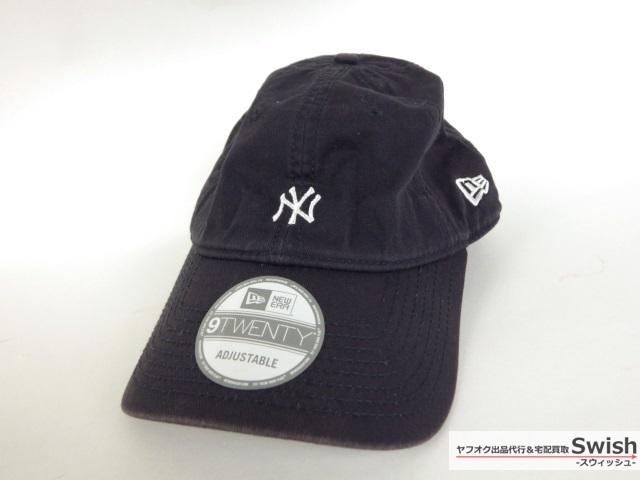 B09  NEWERA ニューエラ beauty youth 別注 SMALL LOGO CAP キャップ 紺 の1 774aa6394edb