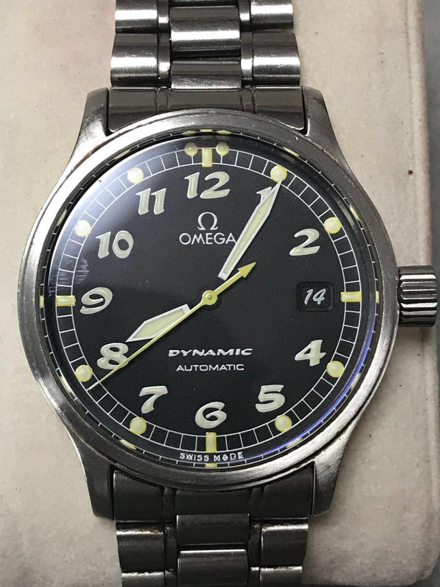 new product b759e 81884 中古】OMEGA Ω オメガ dynamic ダイナミック 5200-5000 ...
