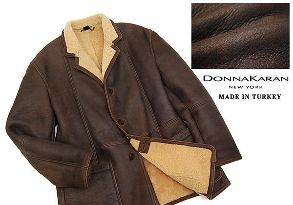 1fd3cedd81342 大人の贅沢!定価30万 ダナキャランニューヨーク Donna Karan New York 羊革 スパニッシュ