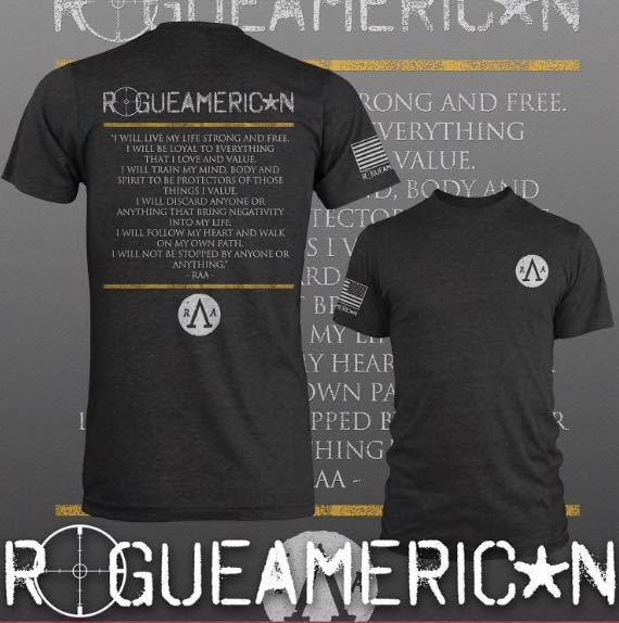 新品】rogue american apparel RAA loyalty T-SHIRT サイズS
