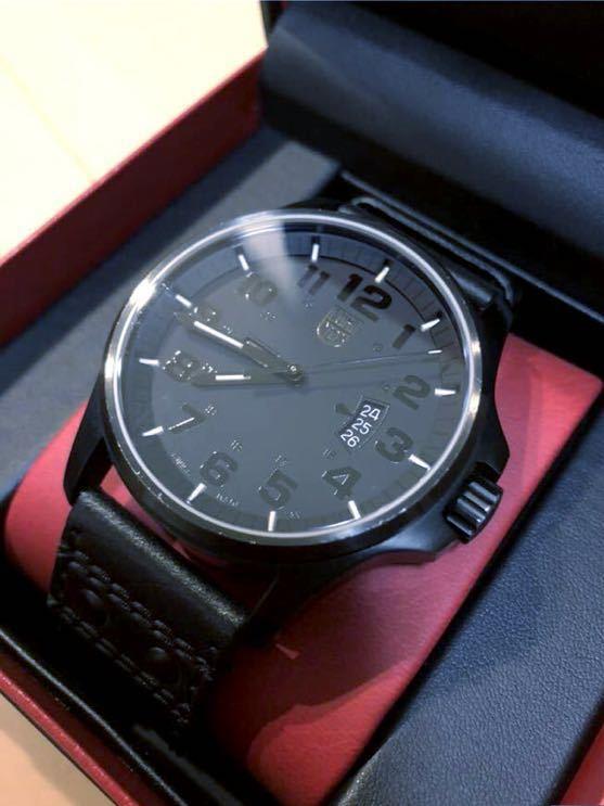 reputable site 2aaef 2b5c9 ブラック×ブラック 腕時計 【中古】 1879 ルミノックス LUMINOX ...