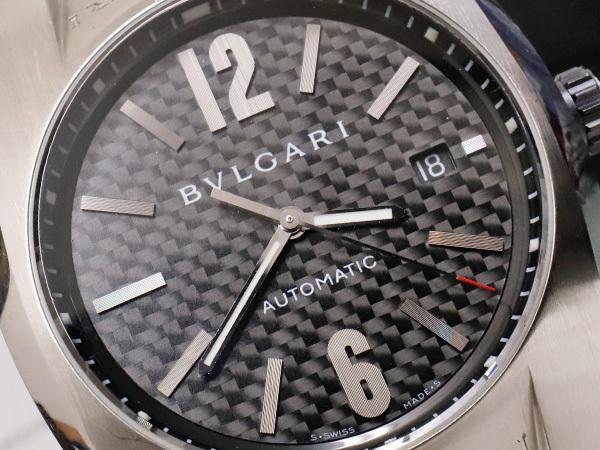 the best attitude 86170 426ba ブルガリ BVLGARI オートマチック カーボンダイヤル エルゴン ...