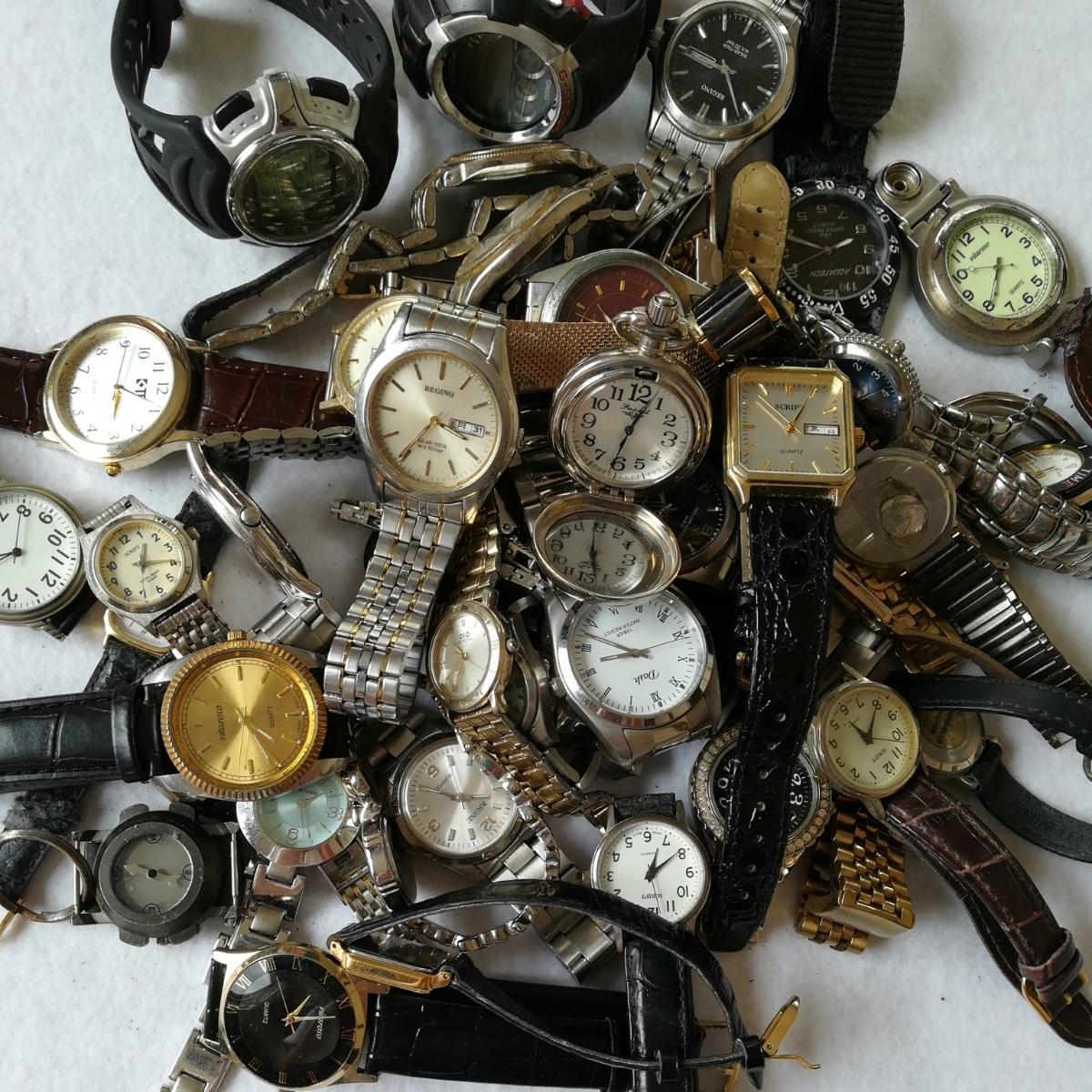 fc0afb74a2 1円~SCRIPT REGUNO pierre cardin ELGIN 時計 腕時計 大量 まとめて44点 動作