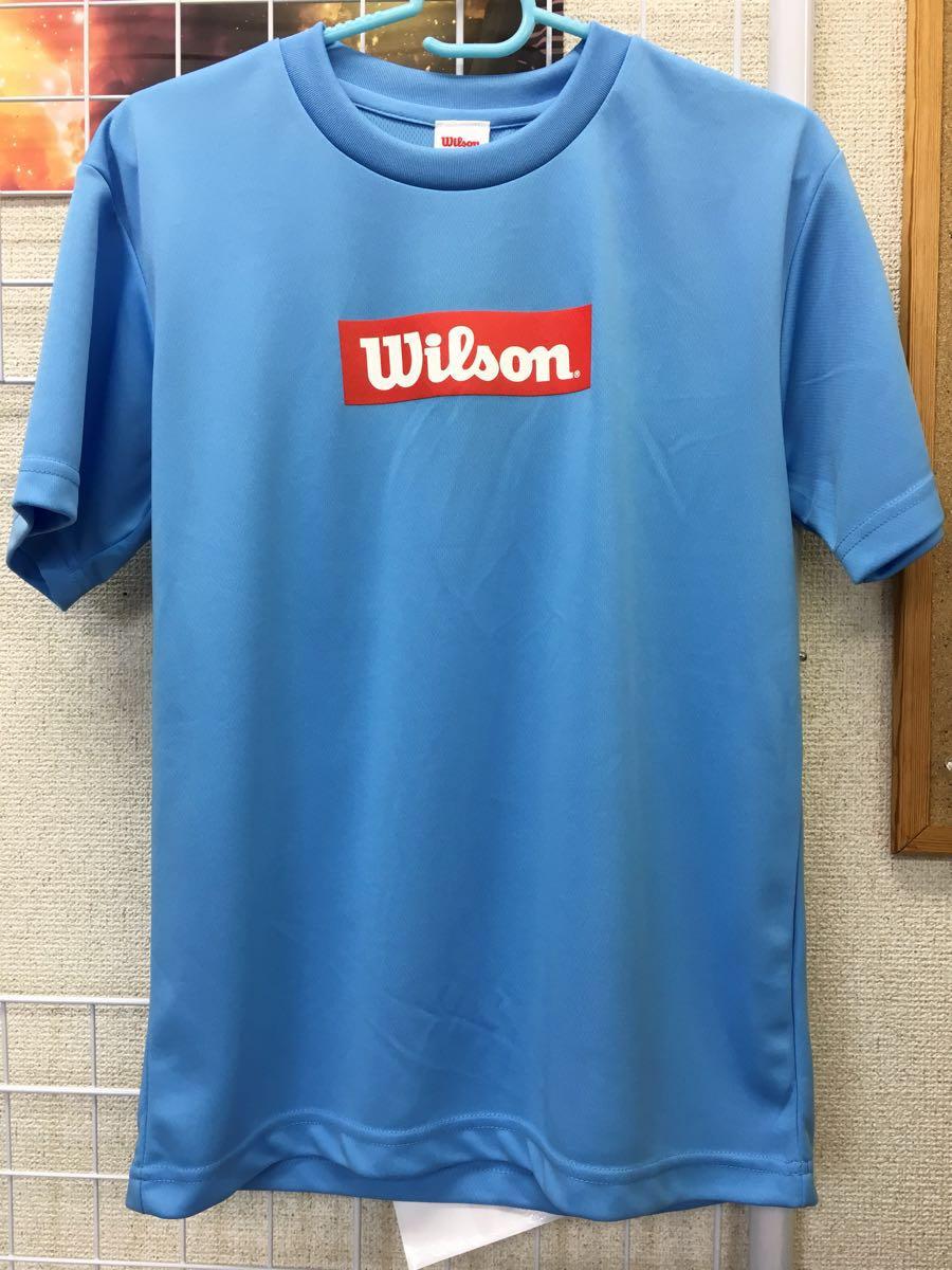 b070177d125ac 【限定】Wilson(ウィルソン) LOVE BADMINTON Tシャツ ブルー サイズL 新品タグ