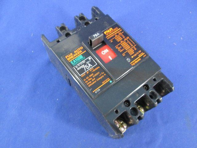 New FOR Fuji EA103B 3P 75A Circuit breaker