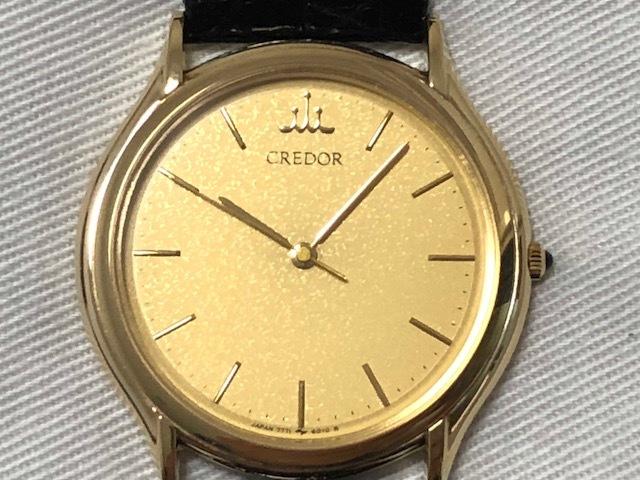 0f74df2ae2 【SEIKO CREDOR】セイコー クレドール K18 18金 メンズ クォーツ腕時計 7771-6020の