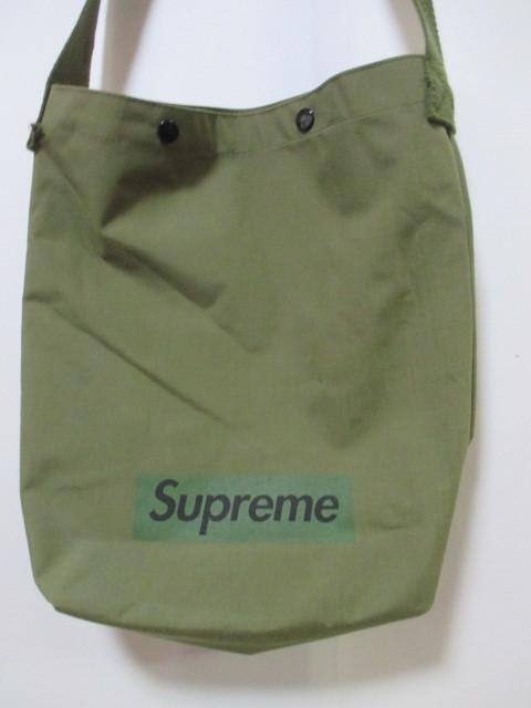 668c16ef1549 ... *1円~ 入手困難 Supreme ワンショルダーバッグ ノベルティ 非売品 Box Logo Olive FK