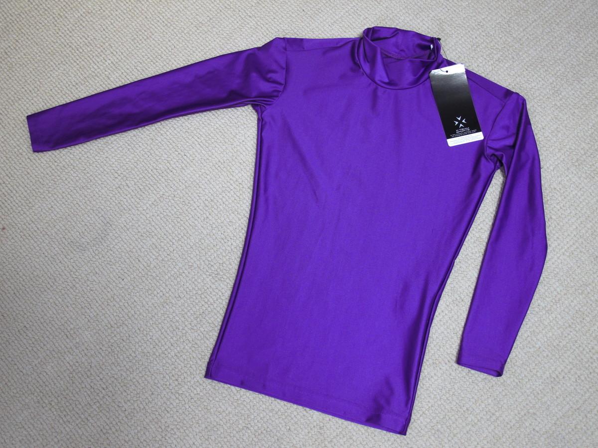 f5956ce2d1181d エックス チームスポーツ ( X-TEAM SP ) ジュニア コンプレッションアンダーシャツ 130 紫 新品