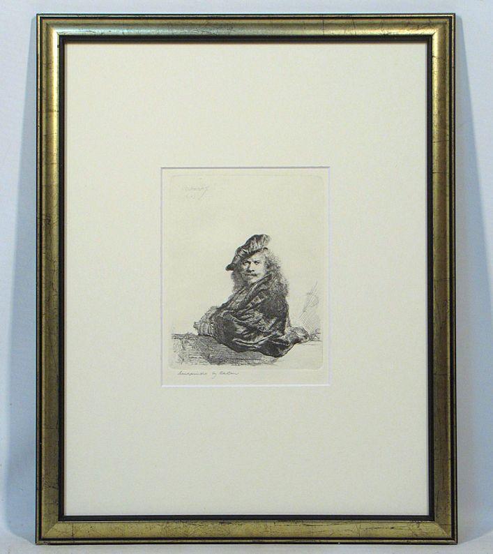 レンブラント 自画像