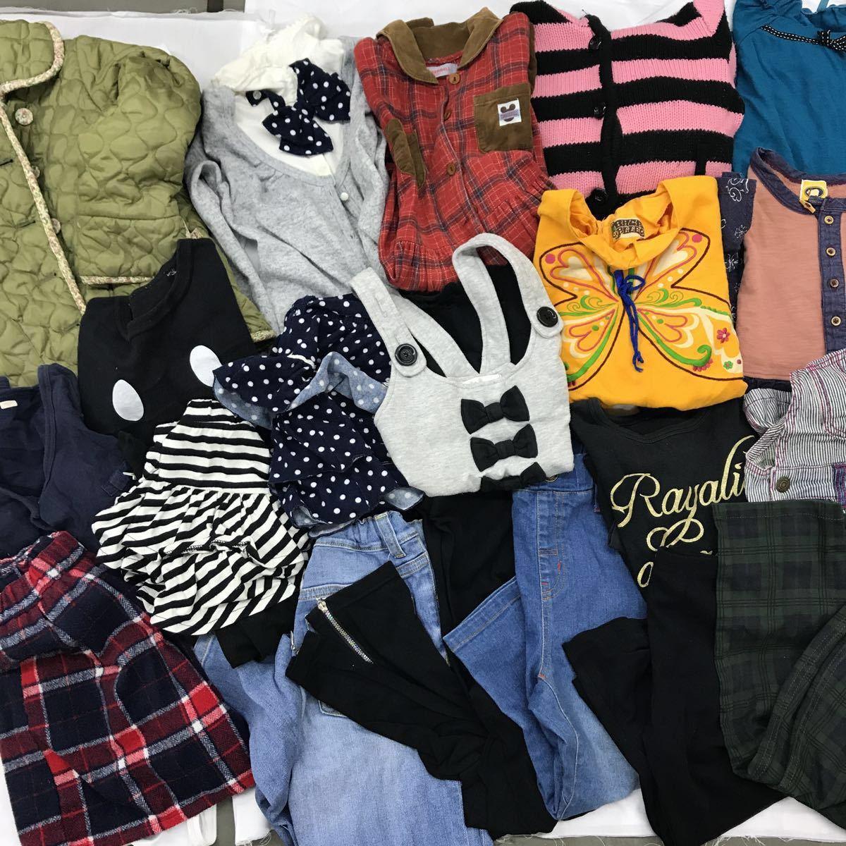 d36cb2aaf8553 SR-77 キッズ 女の子 20点 130cm まとめ売り まとめて アウター トレナー ズボン スカート
