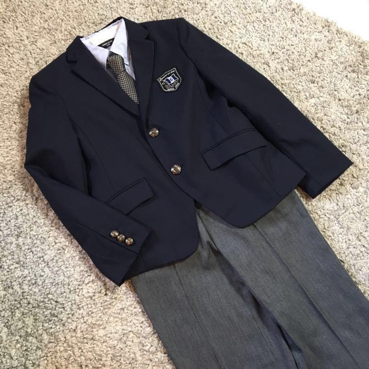 bba95cc4eb41d コムサイズム フォーマル スーツ 一式セット 150cm 一度着の美品♪ 男の子 卒業式 入学