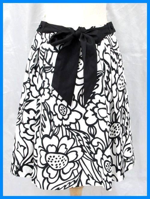 535f7311249c5 ☆美品 TO BE CHIC トゥービーシック 花柄 タックフレアスカート 40 M ...