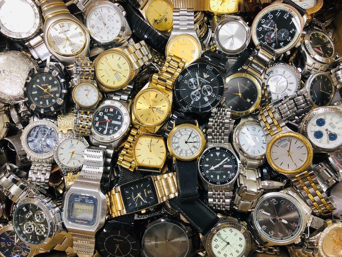 innovative design 571e7 95a63 中古】300本 大量 腕時計セット まとめて ARMANI TISSOT BULOVA ...