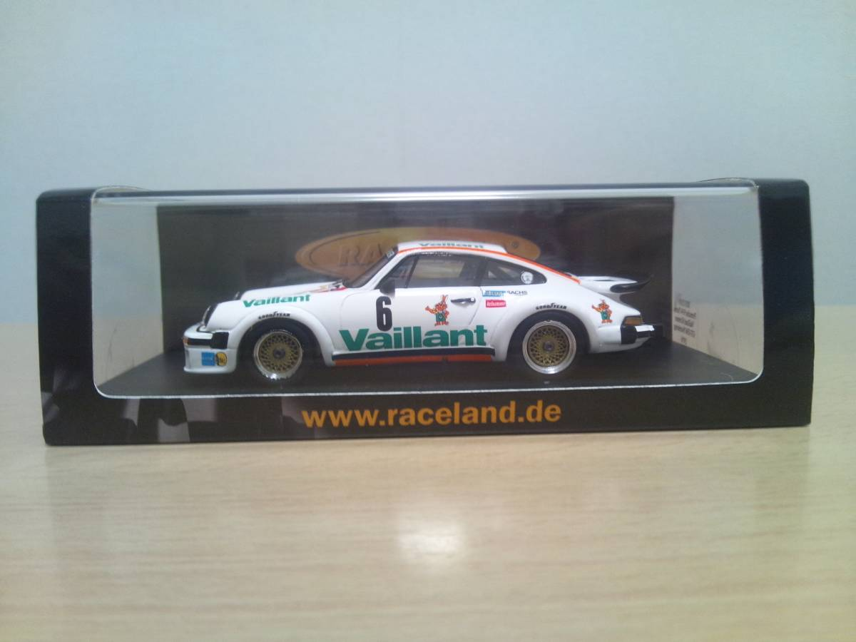 Raceland Spark 1:43 Porsche 934 Turbo Vaillant Kremer Norisring 1976 Bob Wollek