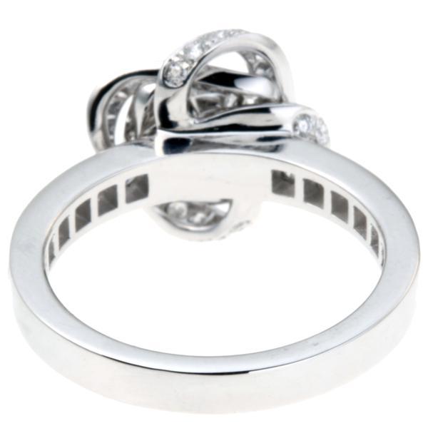 65fd6aca1291 ... 飯能本店]Boucheron ブシュロン アバ ピヴォワンヌ ダイヤモンド リング・指輪 750ホワイトゴールド 10