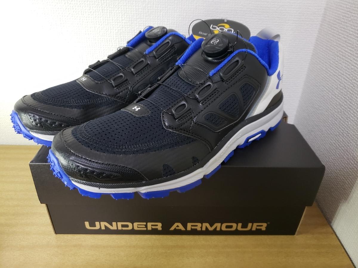 05ed7332079fb1 アンダーアーマー UNDER ARMOUR ヴァージアンフィビアン MICHELIN 青 黒 ランニングシューズ スニーカー 29㎝ 新品