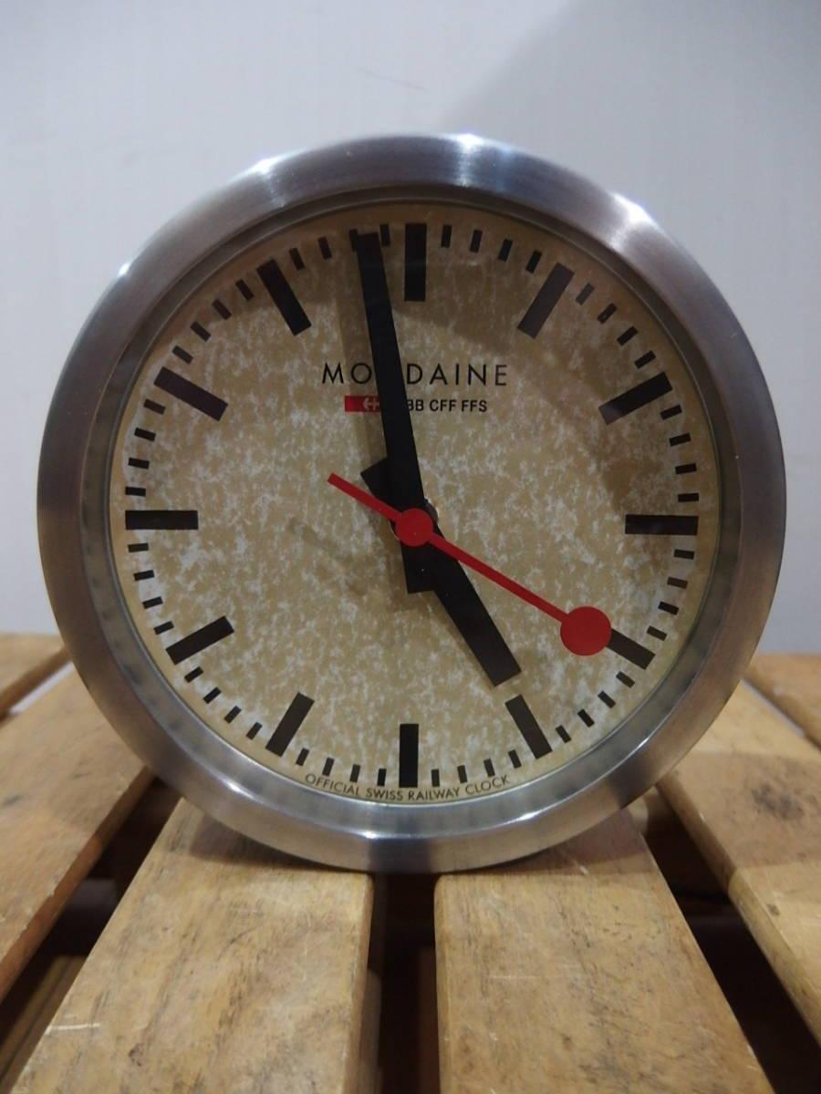 quality design 2523a 778c0 美品 SWISS MONDAINE スイス鉄道時計 スモールサイズ! の落札 ...
