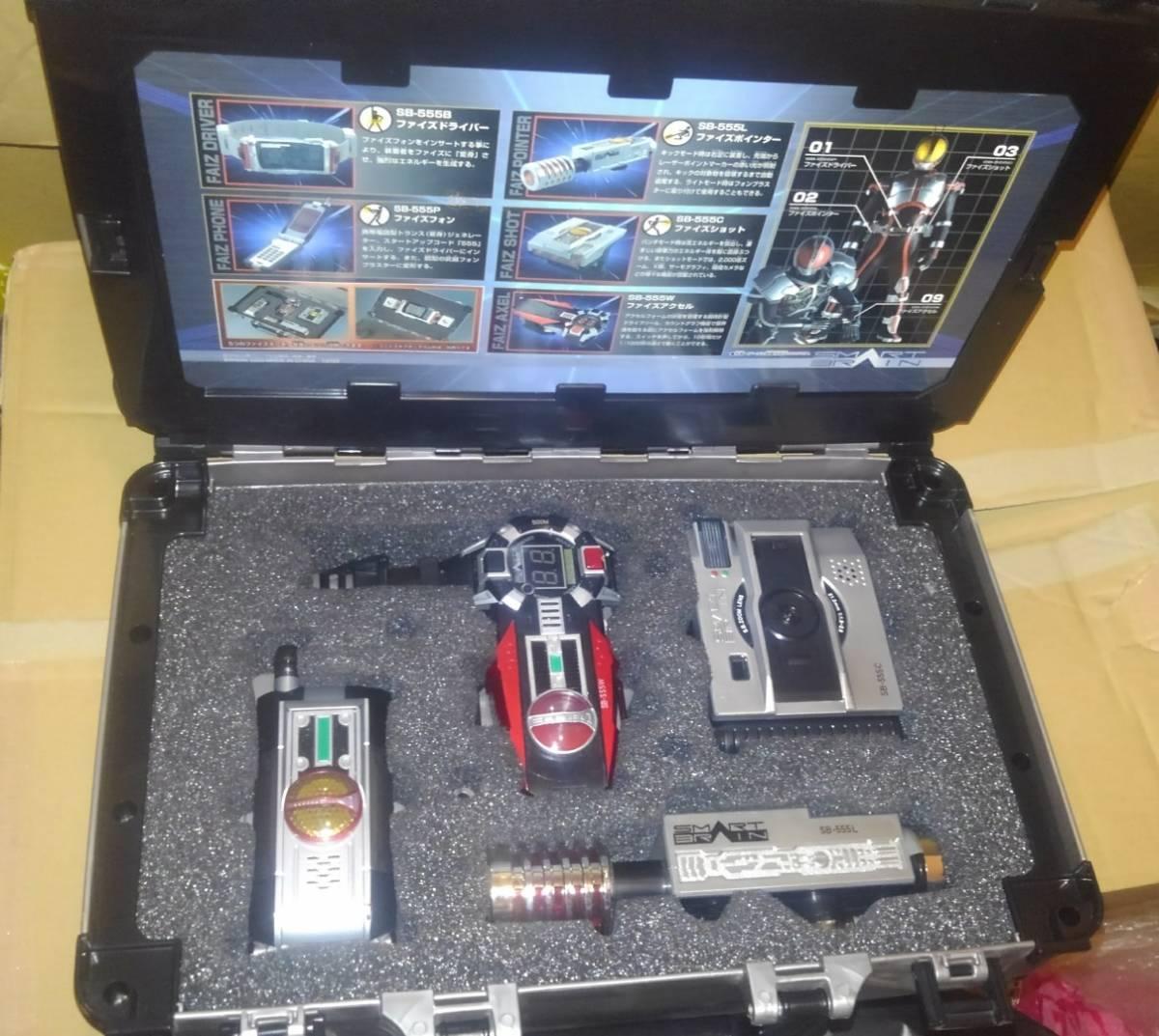 21077cbd88 仮面ライダー555 DX 変身ベルト ファイズドライバー ファイズギアボックス ファイズショット ファイズアクセル ファイズ
