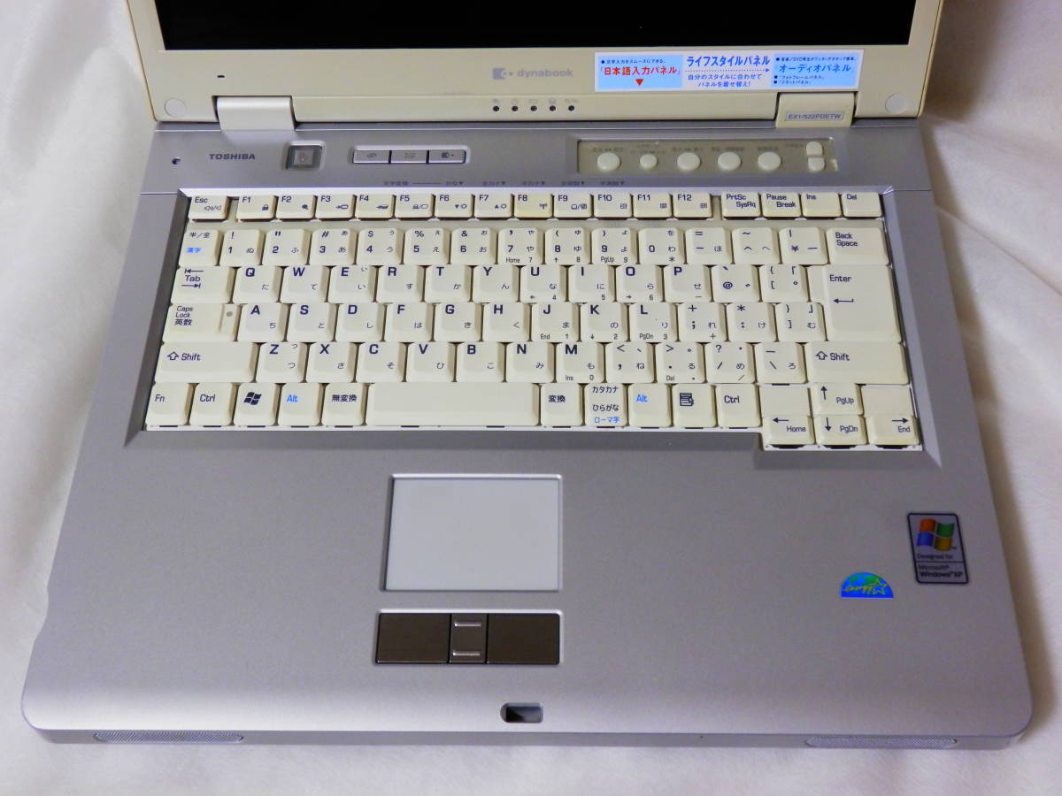 DYNABOOK EX1 522PDETW DRIVERS WINDOWS 7
