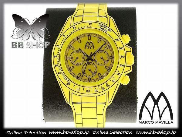 20b835cb6 新品☆MMTIME エムエムタイム マルコ マビラ 本物 ケース付き デジトナ ウォッチ 腕時計  OCEANS雑誌