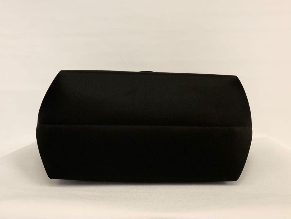 8de8aaea2a0d ... CHANEL シャネル ノベルティ スパンコール トートバッグ ブラック×ロゴホワイト ハンドバッグの3番目の画像