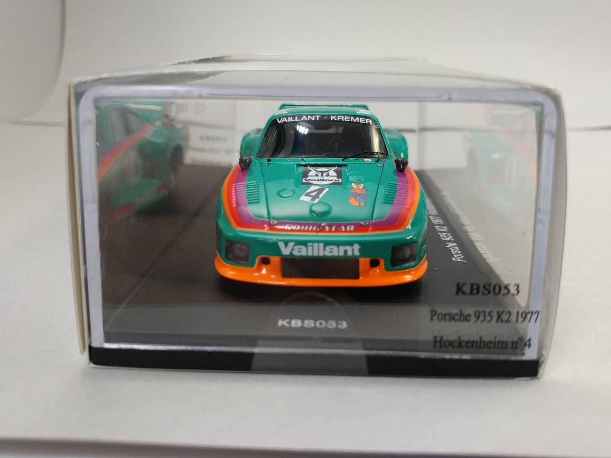 kbs053 Porsche 935 k2-hockenheim 1977-bob wollek-Spark 1:43