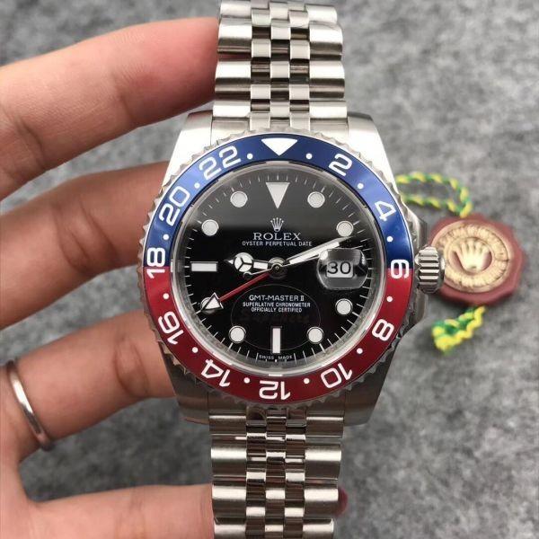 timeless design 10bfd 020e3 新品】新品 メンズ腕時計 GMTマスター2 116719 BLRO 自動巻き ...