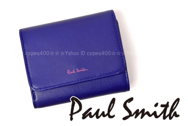 ea29fa576a7f o831新品 Paul Smith/ ポール・スミス(レディース) カラフルクラシック 三つ折り財布