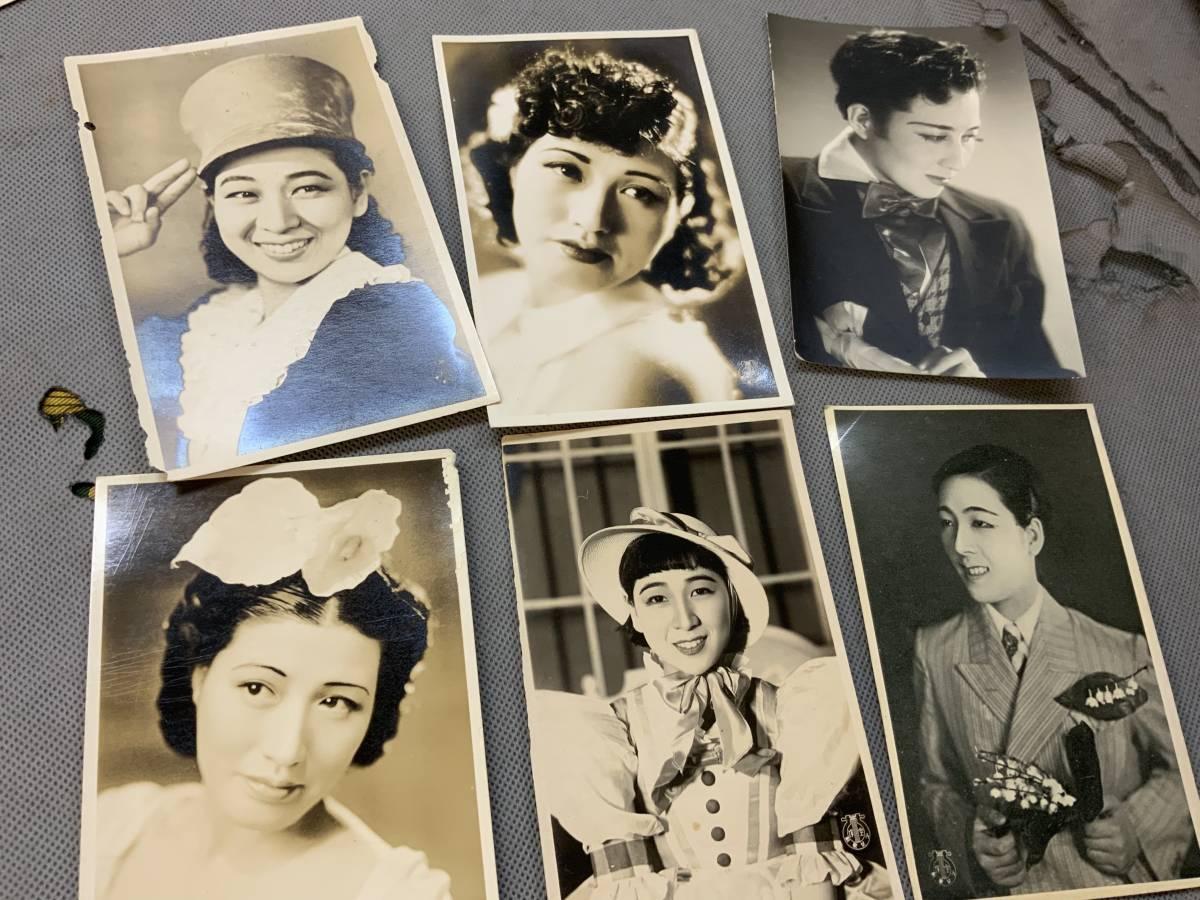 □ 戦前 宝塚出身女優ブロマイド&宝塚歌劇団絵葉書 180枚