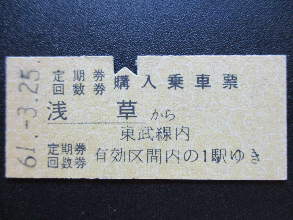 回数 券 鉄道 東武