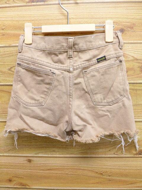 050d195b7c72f ... 古着 キッズ 子供服 ショート パンツ 80年代 ラングラー タロン USA製 ベージュ カーキの2 ...