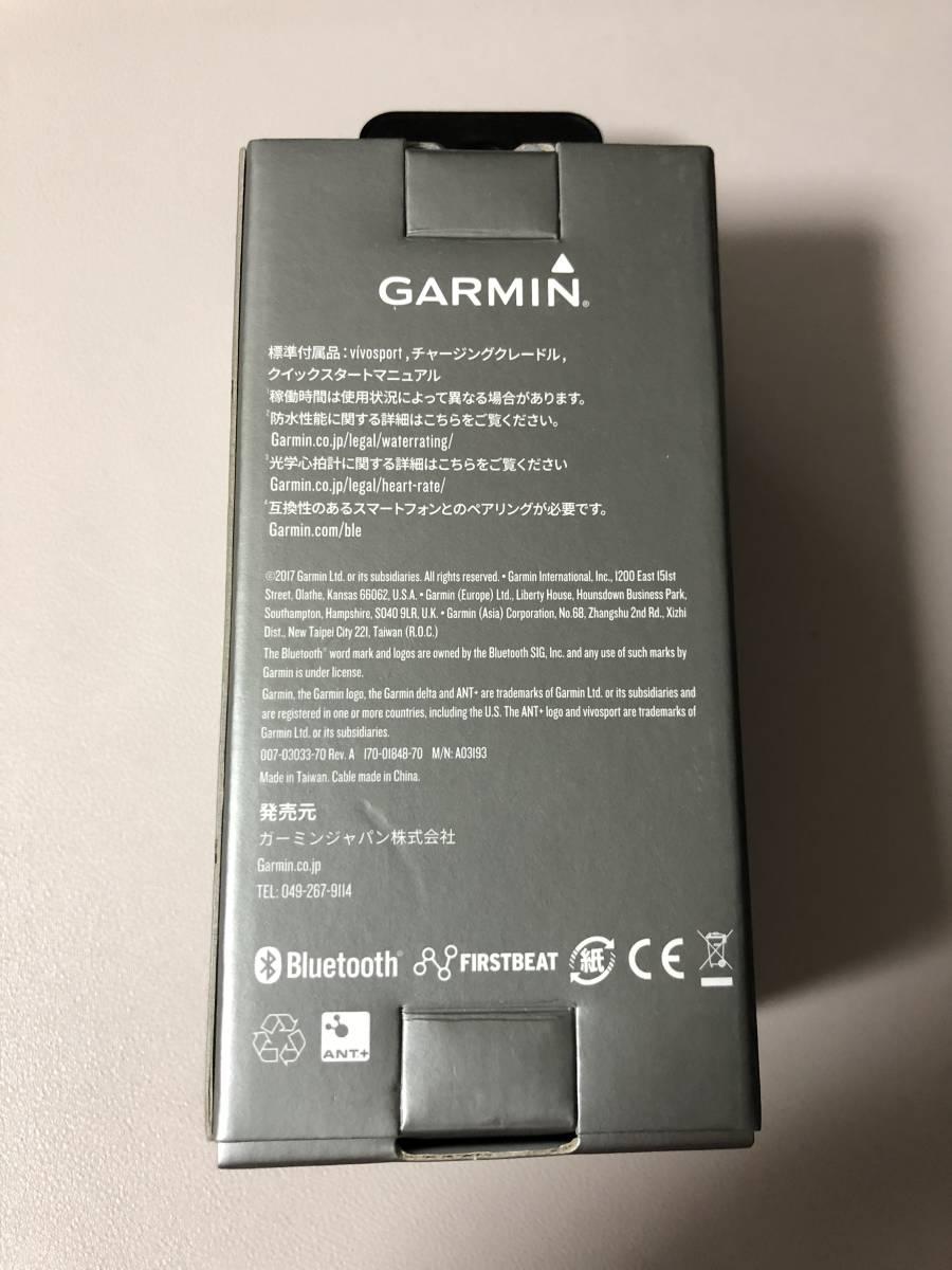 a6e33eb6c4 ... GARMIN(ガーミン) GPS アクティブトラッカー vivosport Slate バンドS/Mサイズ ( 光学