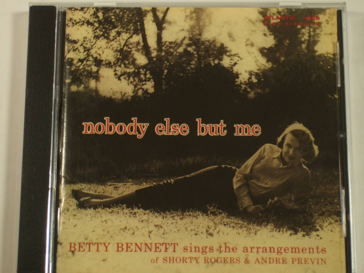 bf4cb02ac5c2 ベティ・ベネット Betty Bennett ☆ ノーバディ・エルス・バット・ミー Nobody Else