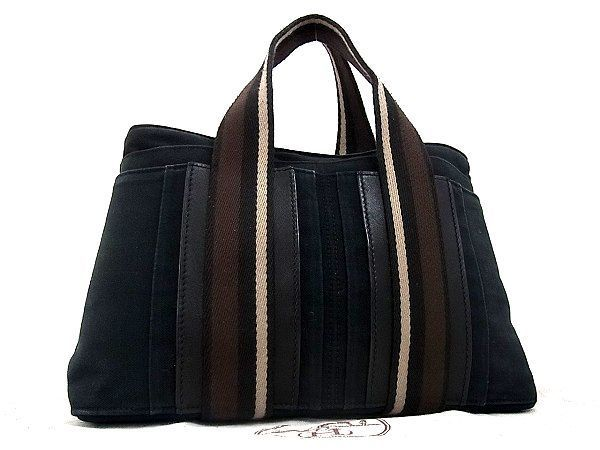 cheap for discount a2594 d845e 1円 HERMES エルメス トロカホリゾンタルMM キャンバス ...