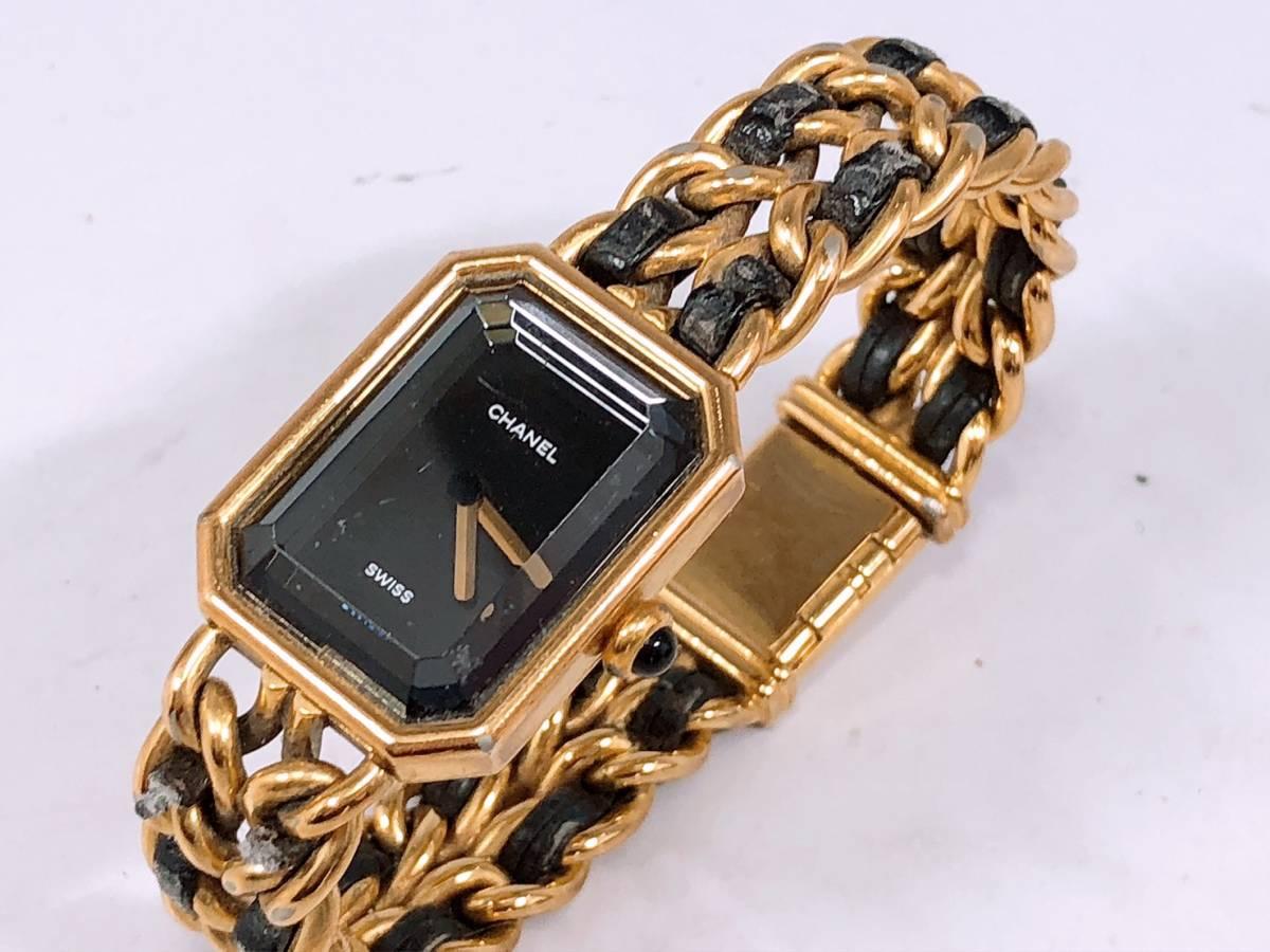 cffa413e663c ... 電池交換済み♪CHANEL♪シャネル♪時計♪腕時計♪プルミエール♪Premire♪ ...
