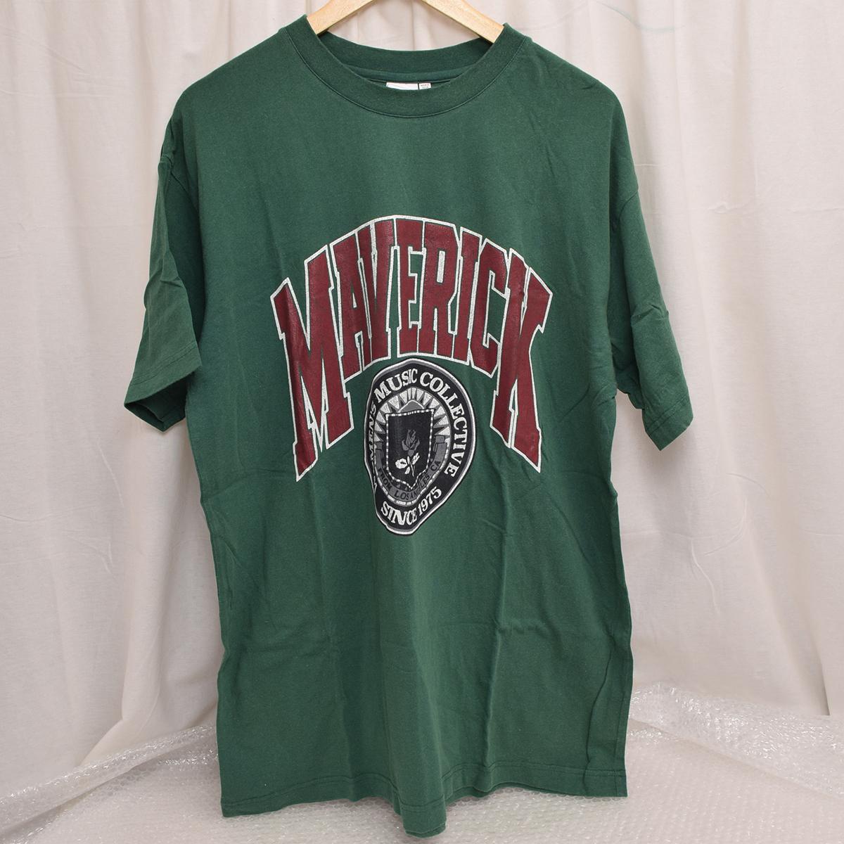 ◇237C/マウジー/MOUSSY MAVERICK Tシャツ イエロー/ブラック/グリーン サイズF レディース 010BAQ90-5860 コットンの2番目の画像
