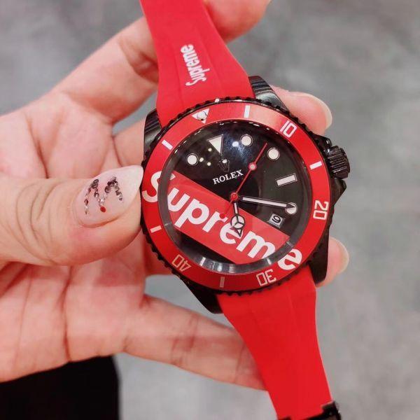 online store 0af7a 3dac2 中古】未使用 ROLEX *SUPREME * ロレックス メンズ腕時計 自動 ...