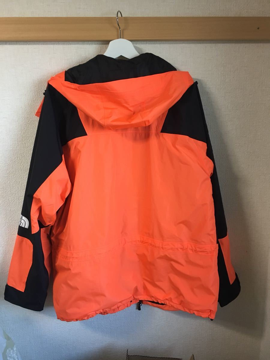 0c39abfd3 supreme the north face mountain light jacket power orange 16aw 16fw ...