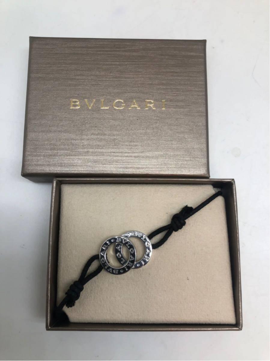 outlet store b6145 9f27d ブルガリ BVLGARI ブレスレット アンクレット メンズ レディース ...