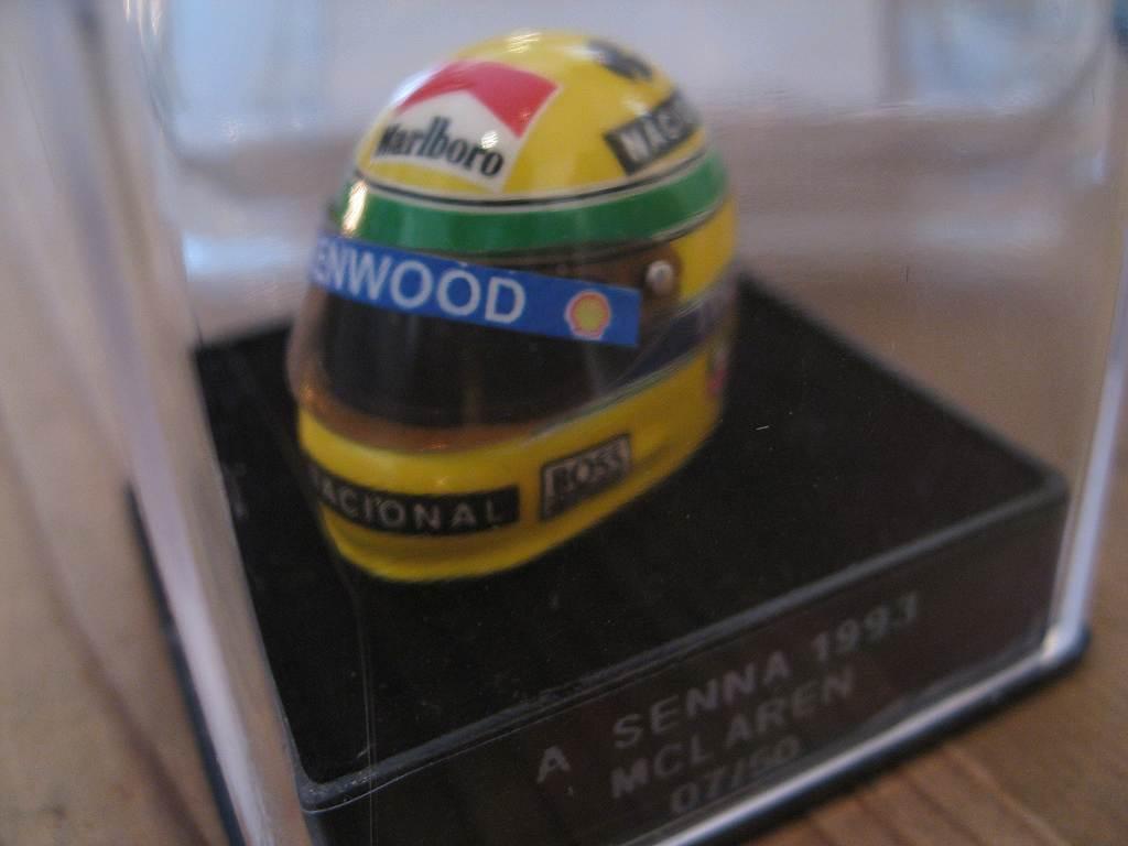 1:12 JF Creations McLaren helmet Senna 1993