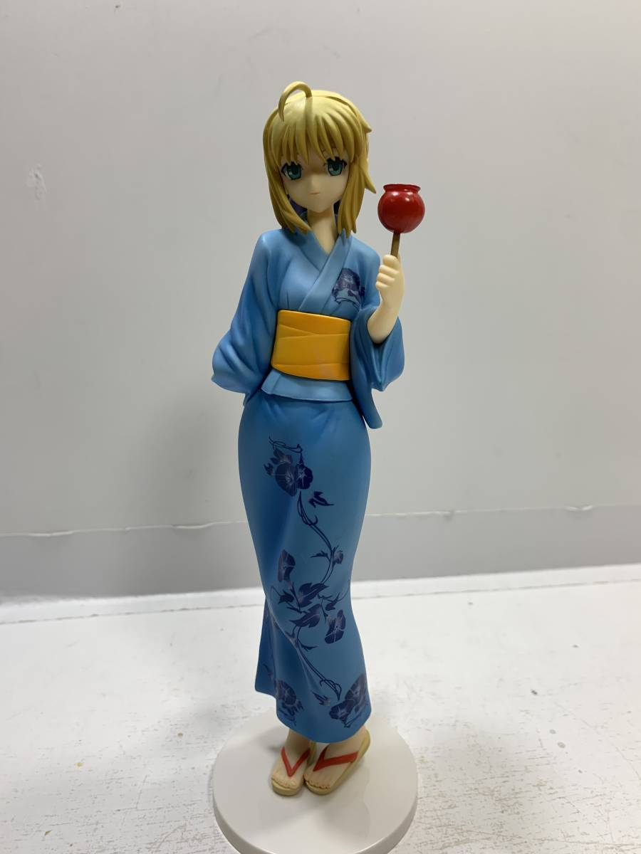 FATE//STAY NIGHT Saber Yukata 1//8 Pvc Figure Freeing