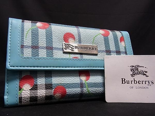 new product 0e05b 0f409 1円 BURBERRY バーバリー ロゴ さくらんぼ チェリー ノバ ...