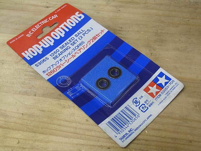 2Pcs New Rubber Sealed 850 Bearings Tamiya