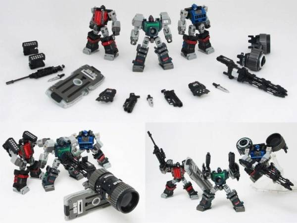 TRANSFORMERS G1 PERFECT EFFECT PE-12 AFX Assault Force X NEW